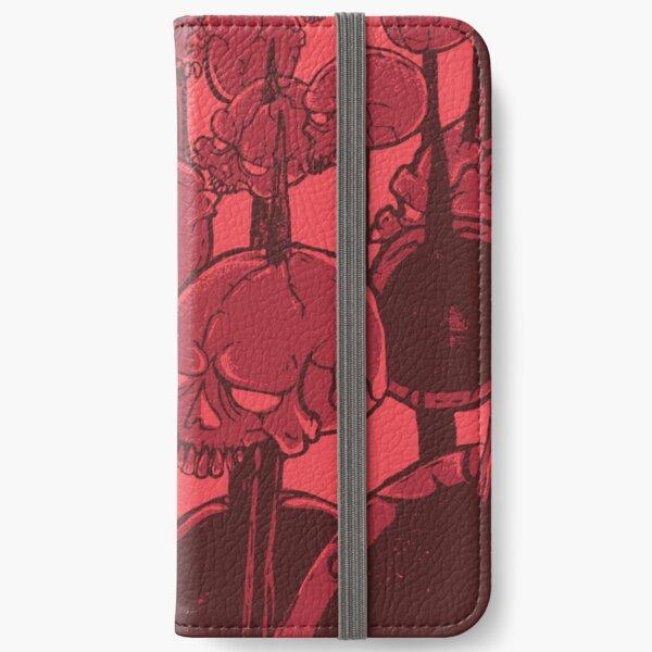 skull bbq iPhone Wallet