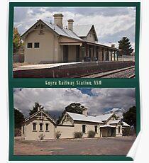 Uralla Railway Station, NSW (circa 1882) Poster