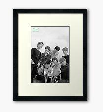 BTS 2020 SEASONS GREETINGS Framed Print