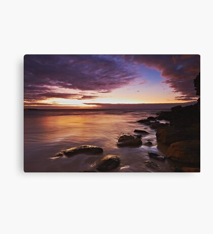 Freshwater Sunrise Canvas Print