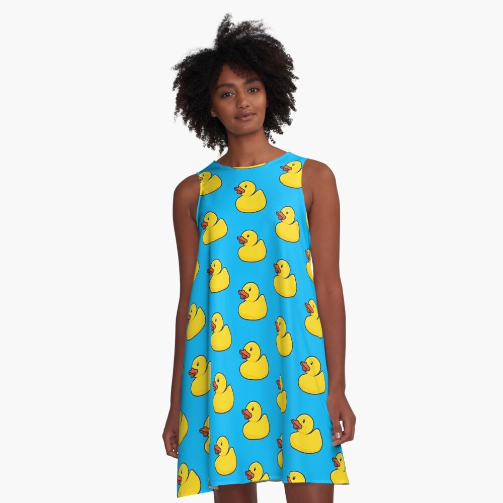 Rubber Duck A-Line Dress