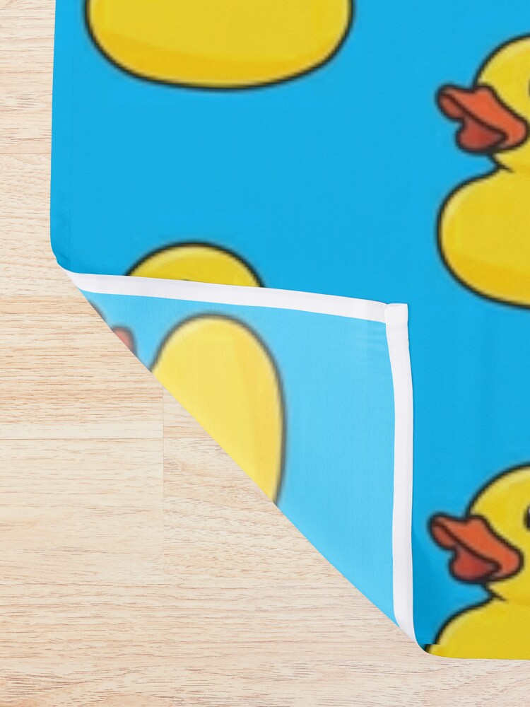 Alternate view of Rubber Duck Shower Curtain