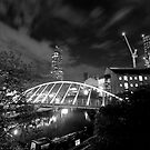 Castlefield lights by mikeosbornphoto