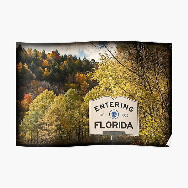 Not my Father's Florida Poster