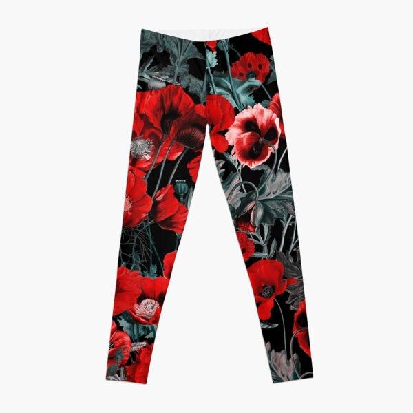 Poppy Garden Leggings