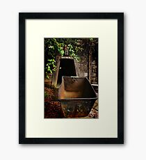 Gold Bug Mine Framed Print