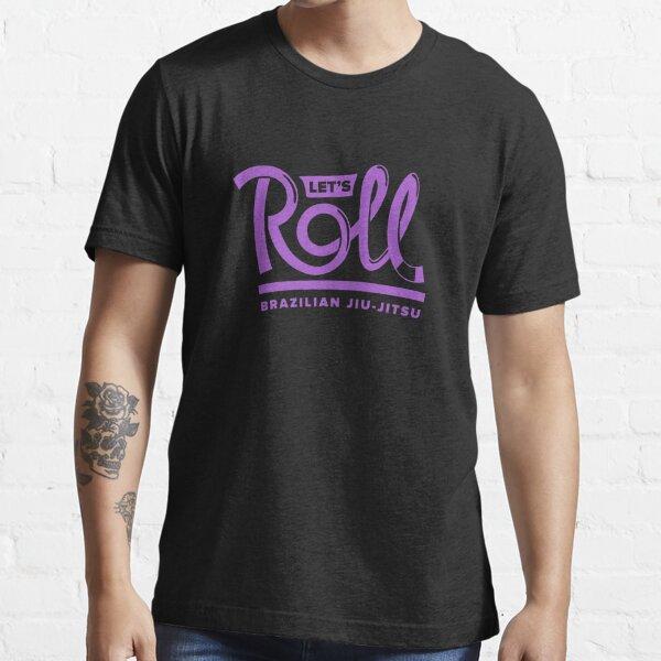 Let's Roll Brazilian Jiu-Jitsu Purple Belt Essential T-Shirt