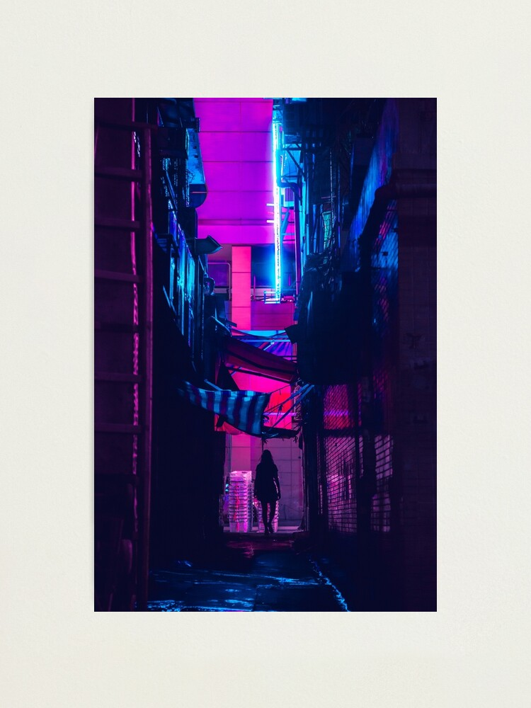 Alternate view of Hong Kong Outrun Photographic Print