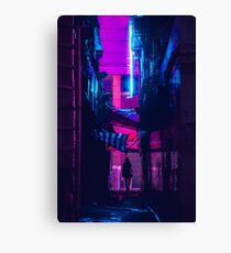 Hong Kong Outrun Canvas Print
