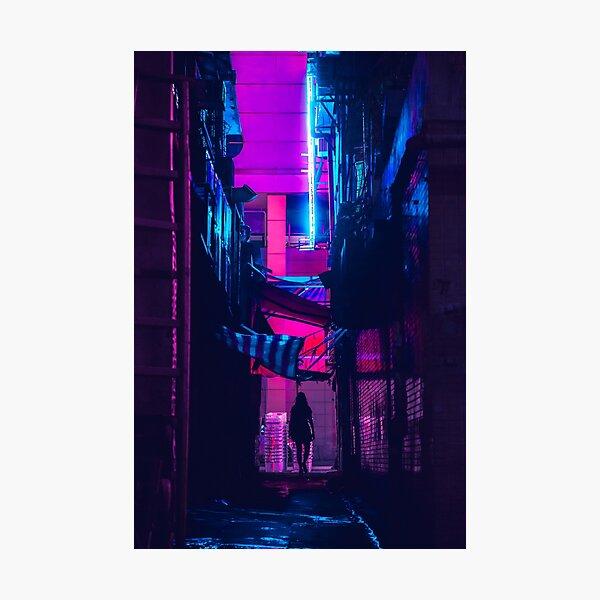 Hong Kong Outrun Photographic Print