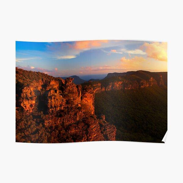 Boar's Head Rock, Katoomba, NSW. Poster