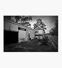 Old Balhannah Railway Station Photographic Print