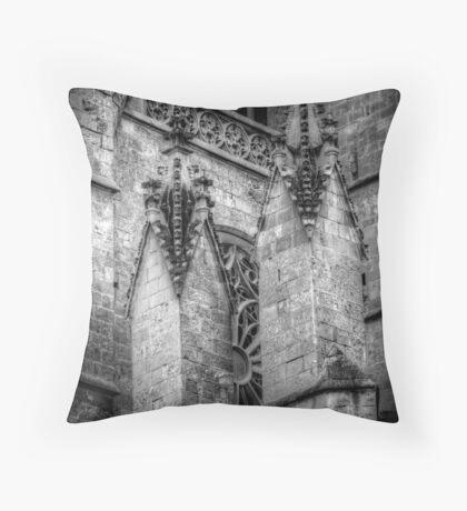 Spiritual Spires Throw Pillow