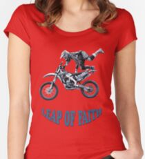 Leap of Faith Women's Fitted Scoop T-Shirt