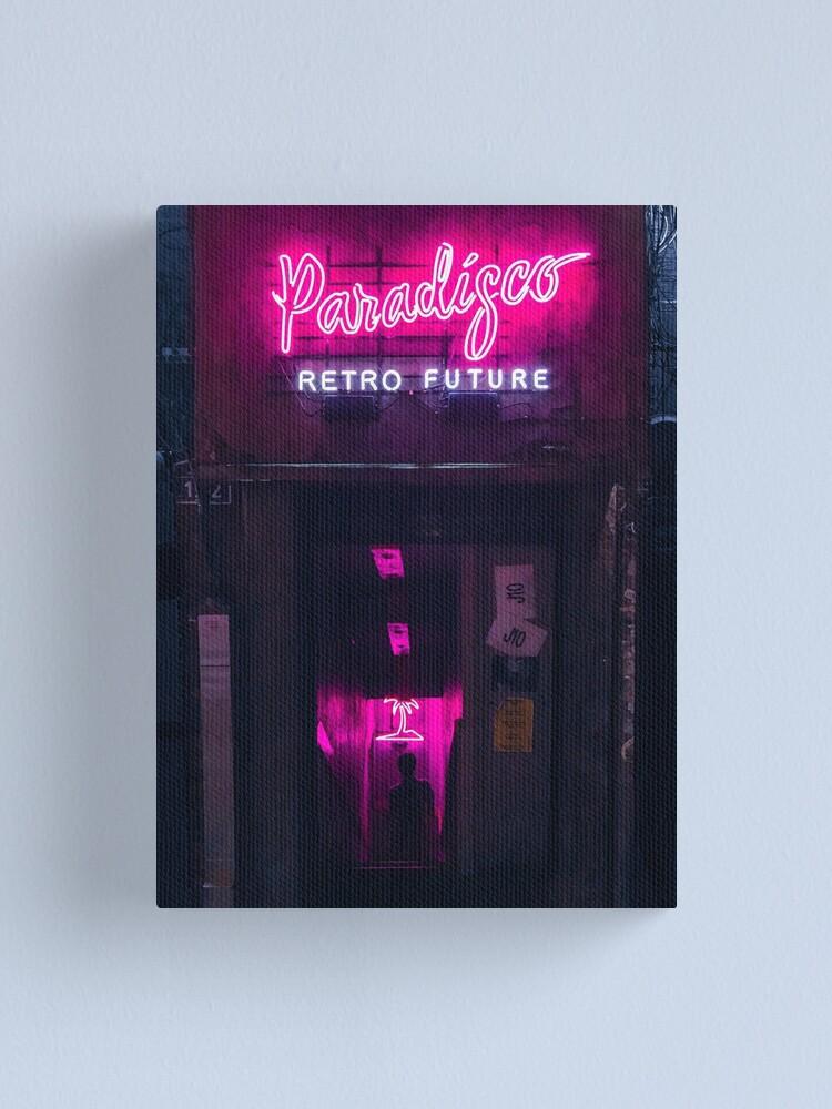 Alternate view of Paradisco Retro Future Canvas Print