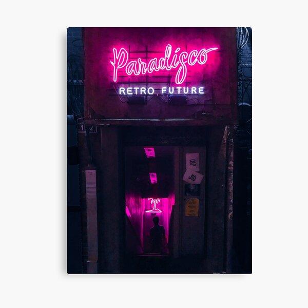 Paradisco Retro Future Canvas Print