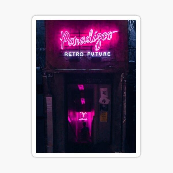 Paradisco Retro Future Sticker