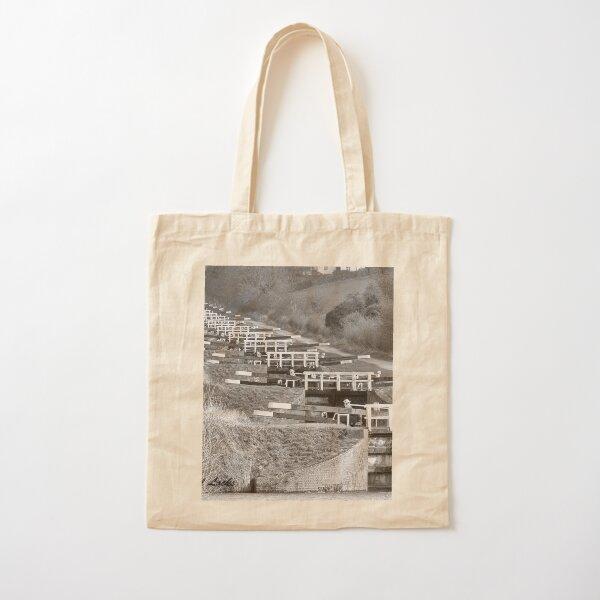 Caen Hill Locks  Cotton Tote Bag