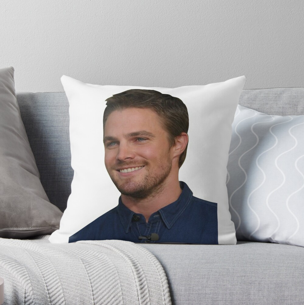 Gift Stephen Amell Cushion Pillow Cover Case