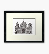 Berlin Cathedral - faith and truth Framed Print