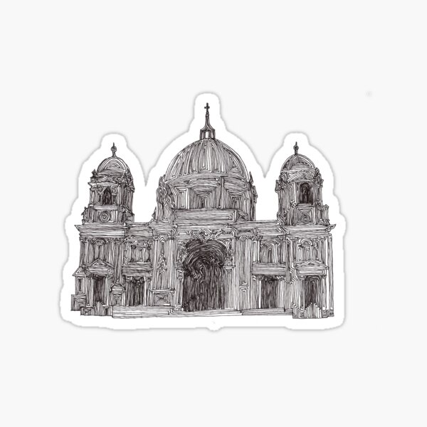Berlin Cathedral - faith and truth Sticker