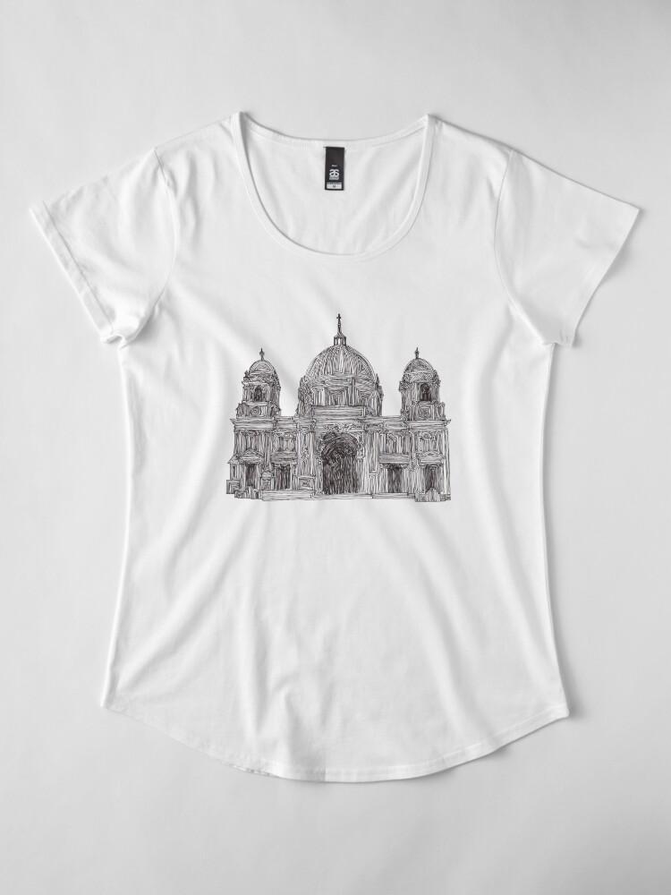 Alternative Ansicht von Berliner Dom - Glaube und Wahrheit Premium Rundhals-Shirt