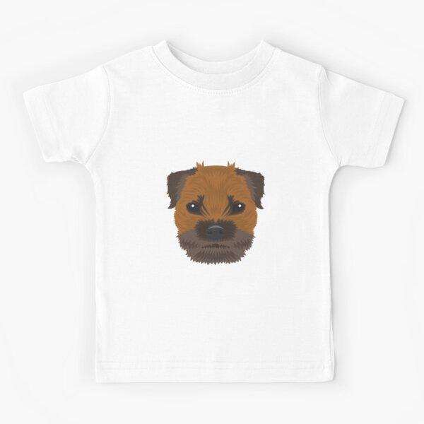 I Love Heart My Border Terrier Kids T-Shirt