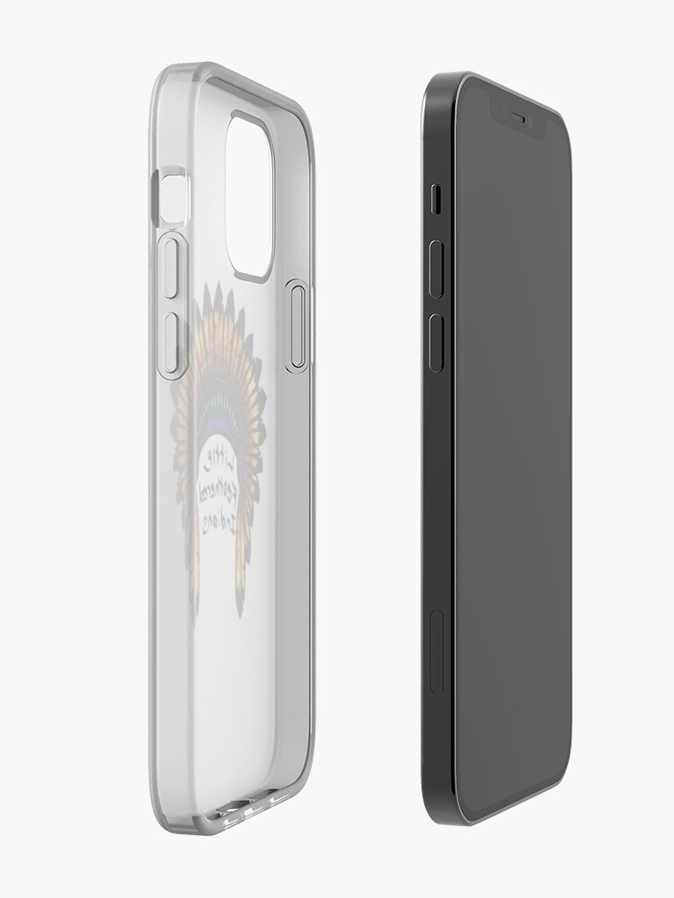 Alternate view of feathered Indians graphic iPhone Case & Cover