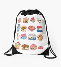 Puglie Food 3 Drawstring Bag