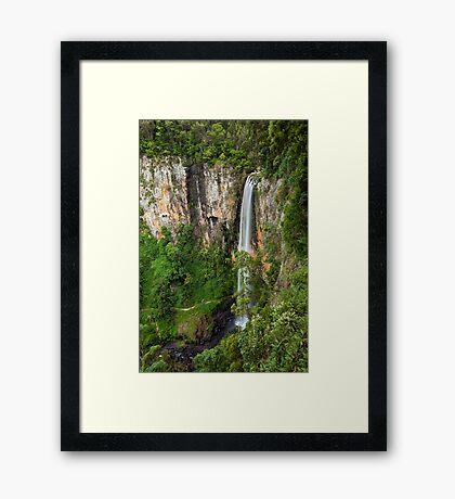 Purling Brook Falls Framed Print
