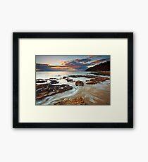 Sunrise at Seven Mile Beach Tasmania #2 Framed Print