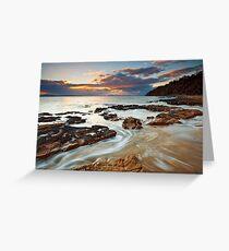 Sunrise at Seven Mile Beach Tasmania #2 Greeting Card