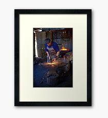 The Blacksmith Framed Print
