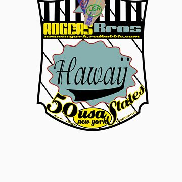 usa hawaii by rogers bros by usala