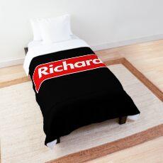 Richard Name Label - Gift For Female Named Richard Comforter