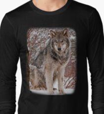 Wolf Shirt - 3 Long Sleeve T-Shirt