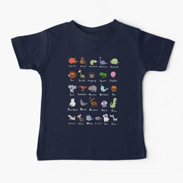 The Animal Alphabet Baby T-Shirt