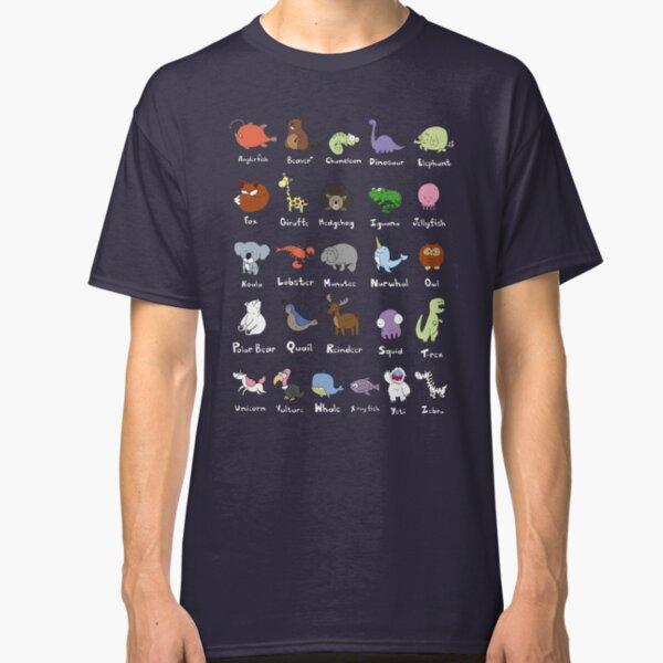 The Animal Alphabet Classic T-Shirt
