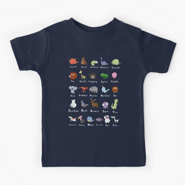 The Animal Alphabet Kids T-Shirt