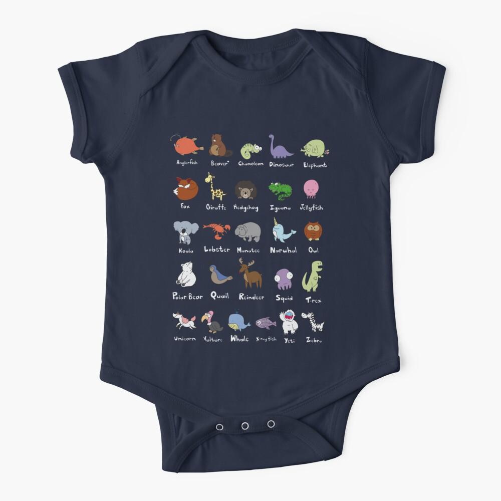 The Animal Alphabet Baby One-Piece