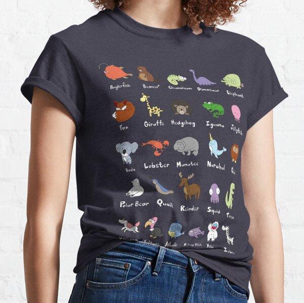 Das Tieralphabet Classic T-Shirt