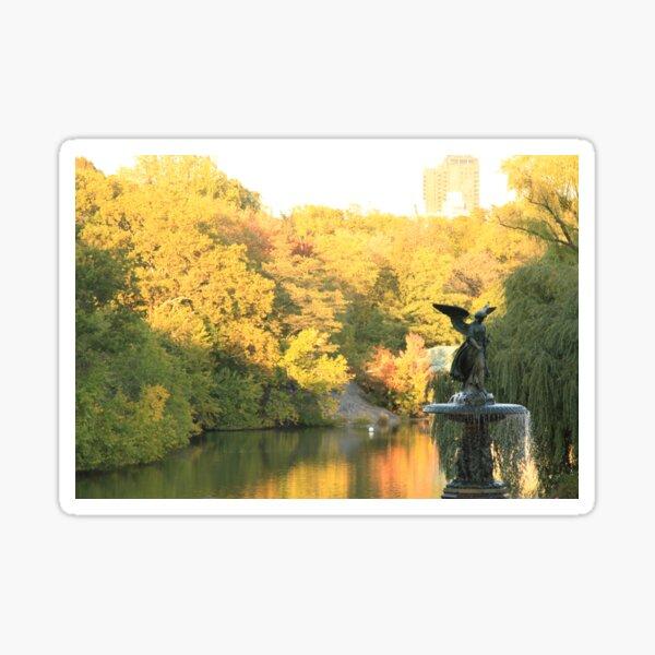 Bethesda Fall - Central Park, NYC Sticker