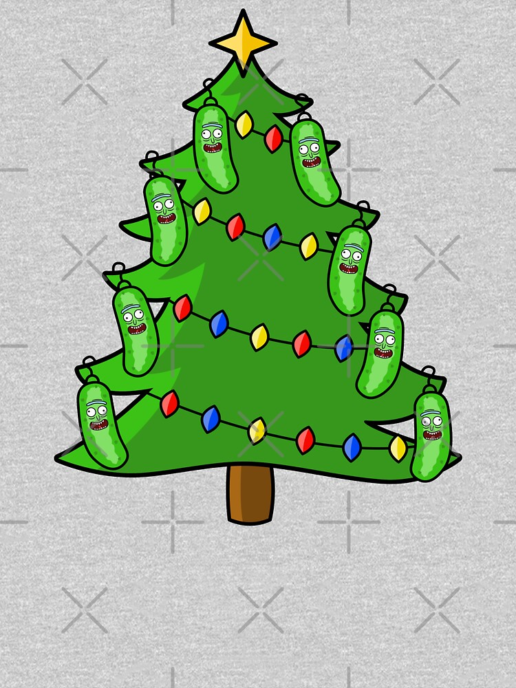 Pickle Rick Christmas Tree by hadicazvysavaca