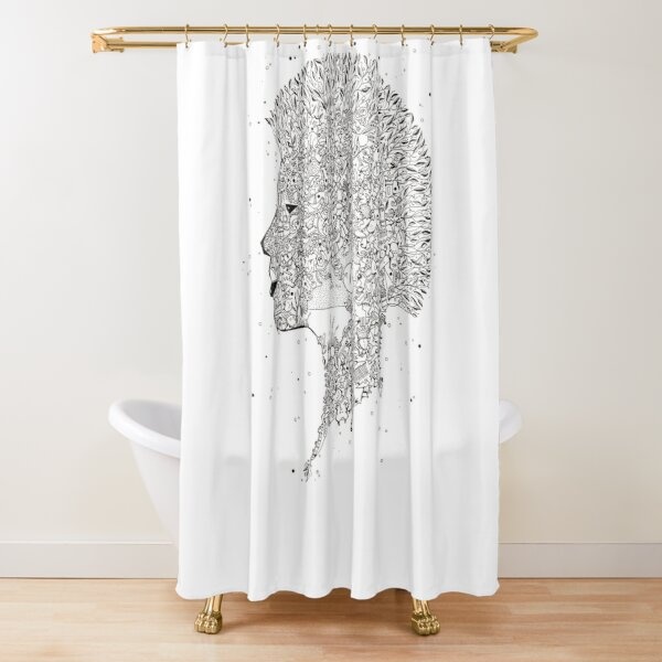 Mohican. Shower Curtain