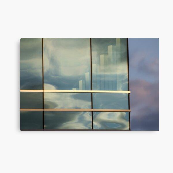 Dusk Reflecting Canvas Print