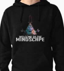 Welcome to The Mindscape -Spacey Pullover Hoodie