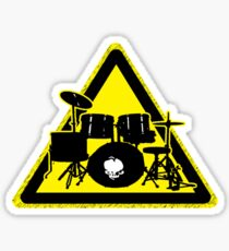 Dangerous drummer Sticker