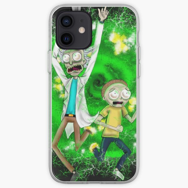 We need to try a new portal Morty!! iPhone Soft Case