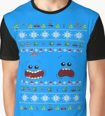 A Meeseeks Christmas Graphic T-Shirt