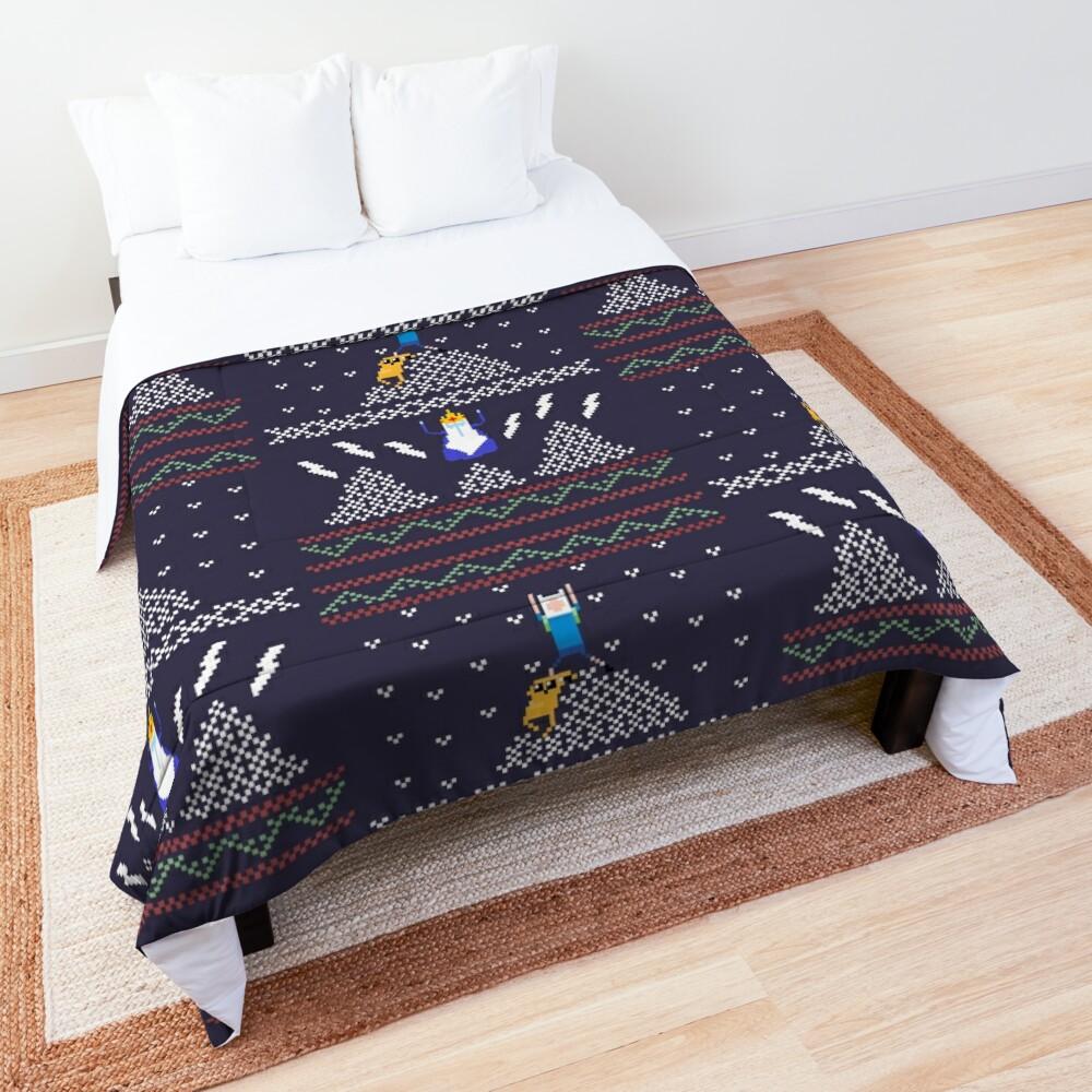 Ugly Christmas Shirt Time! Comforter